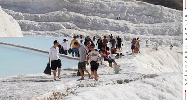 Pamukkale Rekor Üstüne Rekor Kırıyor