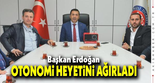 Başkan Erdoğan'dan Destek İstediler
