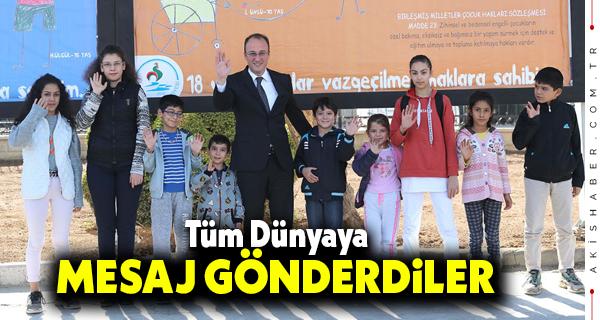 Başkan Örki: Çocuklar Bizim Geleceğimizdir