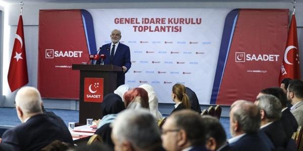 Karamollaoğlu seçim için tarih verdi