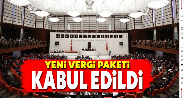 AK Parti ve MHP Oylarıyla Kabul Edildi