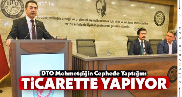 Milletvekili Özkan DTO'nun Misafiri Oldu