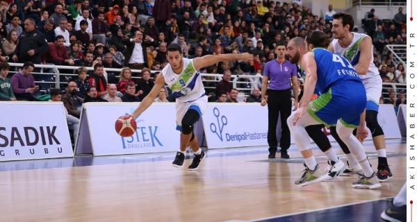 Merkezefendi Belediyesi Basket Lidere 'Dur' Dedi