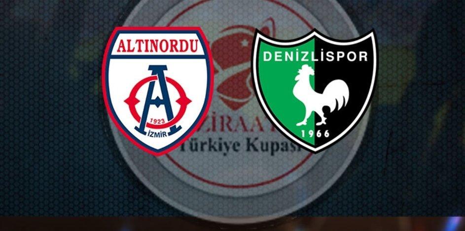 Altınordu Denizlispor maçı ne zaman?