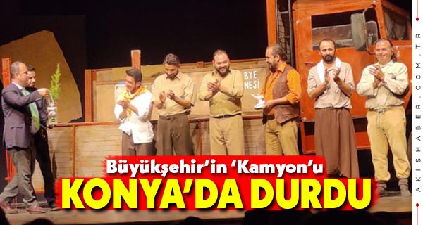 Büyükşehrin Sevilen Oyunu Konya'da Sergilendi