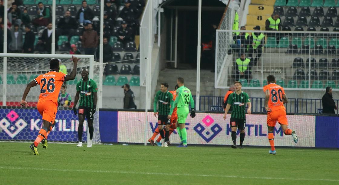 Denizlispor ile Başakşehir yenişemedi: 1-1