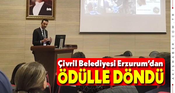 Çivril Belediyesi'ne Sözlü Bildiri 1.lik Ödülü