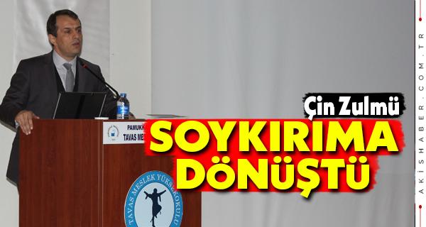 """PAÜ'de """"Orhun Abideleri"""" Konferansı Yapıldı"""