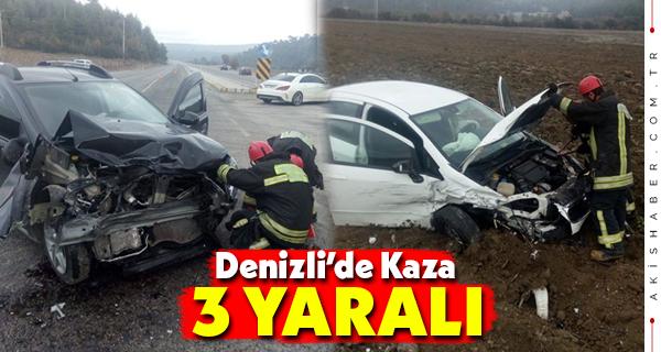 Buldan-Alaşehir Yolunda Kaza