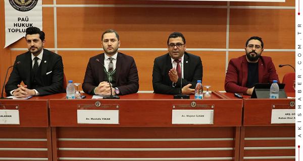 PAÜ'de Türkiye'nin En Önemli Sorunları Konuşuldu