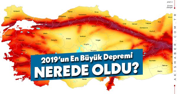AFAD Deprem Raporunda Denizli'nin Durumu