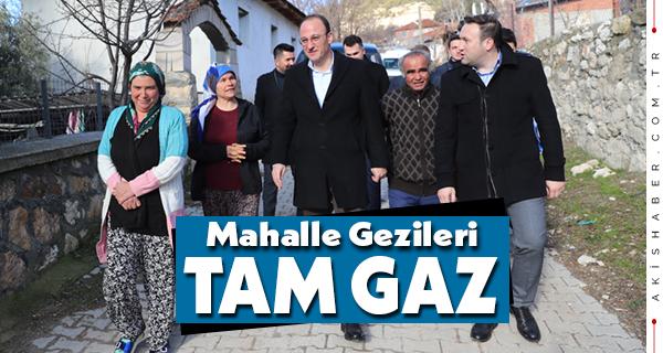 Başkan Örki Vatandaşın Samimiyetiyle Isınıyor