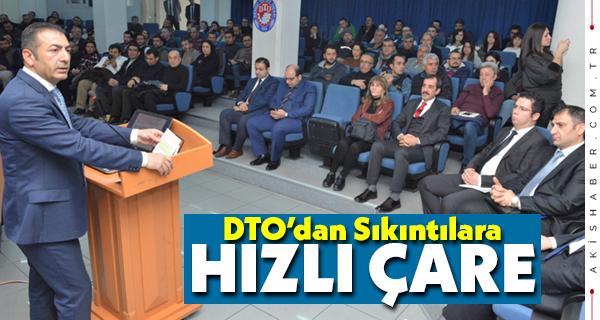 DTO'nun Bilgilendirme Toplantısına Yoğun İlgi