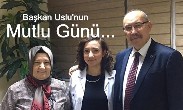 Başkan'ın Kızı Uzman Oldu