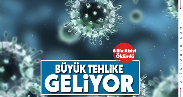 Ölümcül Virüs Okyanusu Aştı!