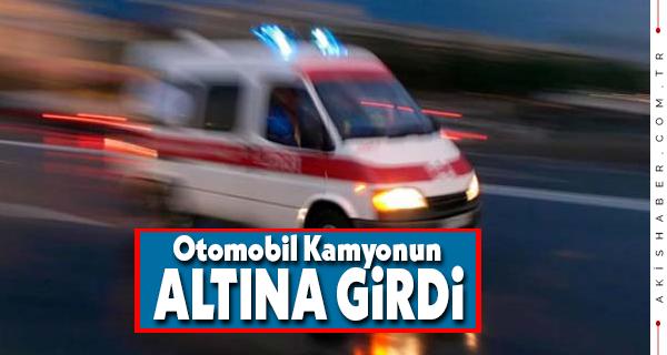 Denizli'de Feci Kazada 1 Kişi Yaralandı