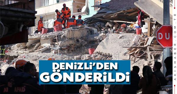 Deprem Bölgesine 2 Tır Yardım Gönderildi