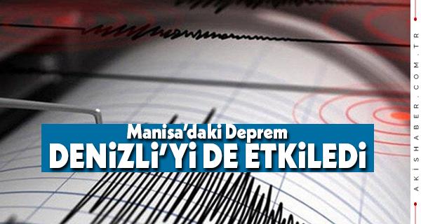 Manisa Depremi Denizli'yi de Etkiledi