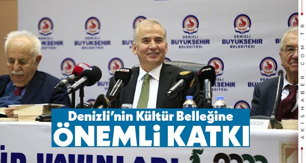 Büyükşehirden 2020 Denizli Yılında Kültür Yayınları