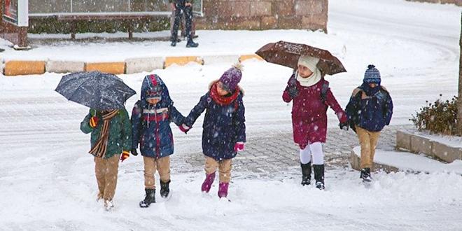 Yarın 14 Şubat Cuma hangi illerde kar tatili var?