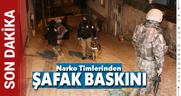 Denizli'de Uyuşturucu Operasyonu: 23 Gözaltı