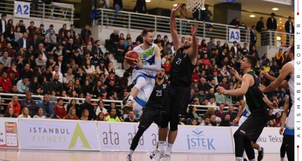Merkezefendi Basket İzmir Ekibini Dağıttı