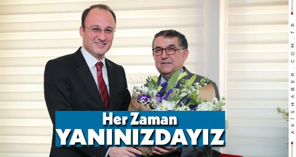 Başkan Örki'den Hayırlı Olsun Ziyareti