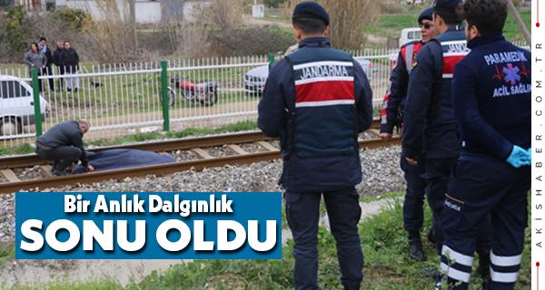Denizli-İzmir Treni Can Aldı