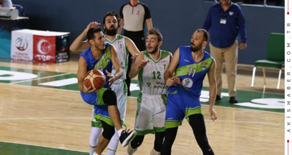 Merkezefendi Basket'ten Ezici Galibiyet