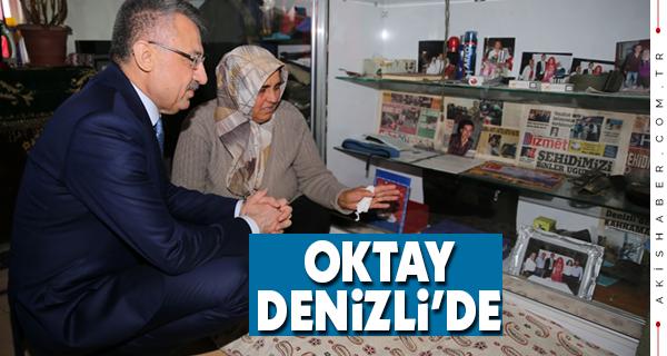 Oktay'dan Şehit Ailesine Ziyaret