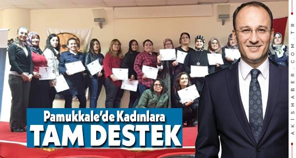 Pamukkale Belediyesi'nin Ücretsiz Kursları Devam Ediyor