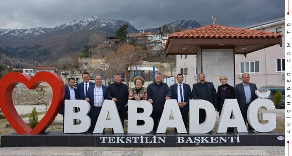 Başkanlar Babadağ'da Buluştu
