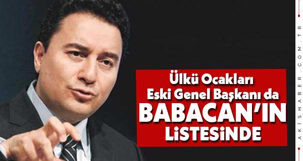 Babacan'ın Partisinde Ülkü Ocağı Eski Başkanı