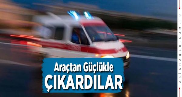 Denizli'de Korkutan Kaza: 2 Yaralı