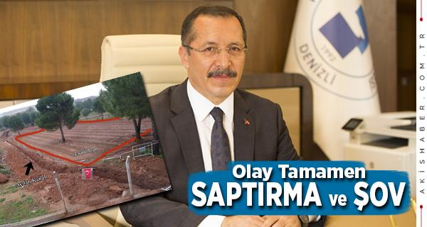 """""""Atık Su Tahliye Kanalında Botanik Bahçe Olmaz"""""""