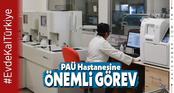 PAÜ Hastanesinde Korona Testleri Başladı