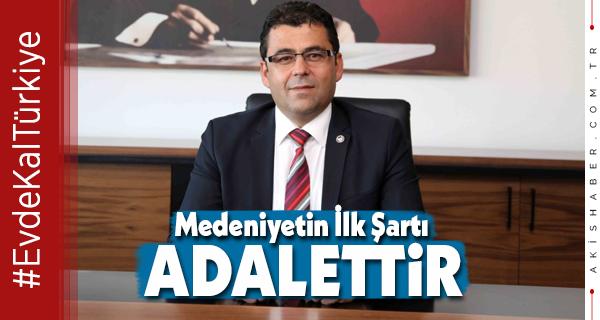 Başkan İlhan'dan Avukatlar Günü Mesajı