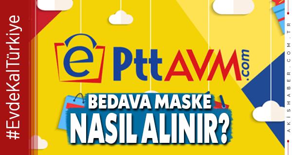 PTT, Ücretsiz Maske Dağıtacak, Hemen Tıkla...