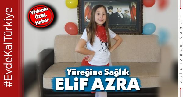 Denizlili Elif Azra'dan İşitme Engellilere 23 Nisan Hediyesi