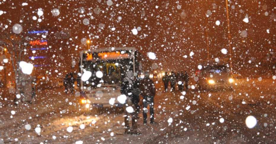 Denizli'de Okullar Bugün Kar Tatili