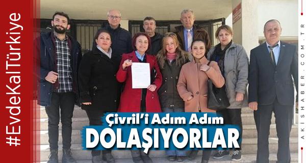 İYİ Parti Çivril Teşkilatı Gece Gündüz Çalışıyor.
