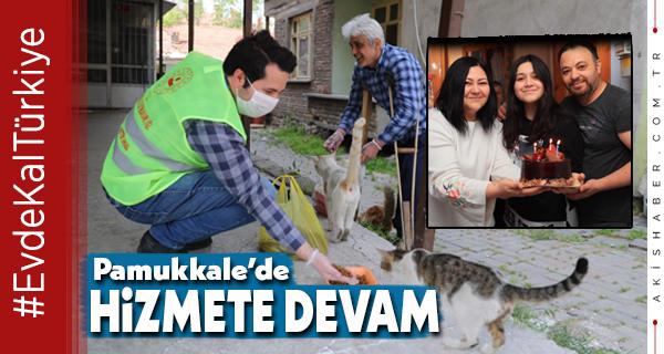 Pamukkale Belediyesi Ekipleri Şaşırttılar