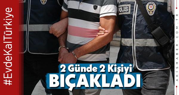 Denizli'de 2 Akrabayı Bıçaklayan Şahıs Yakalandı