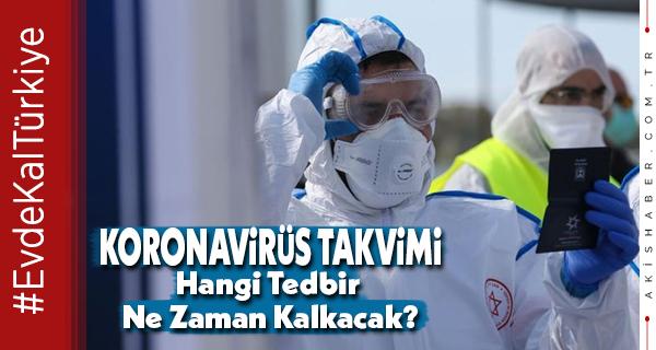 Son Gelişmelerden Sonra Koronavirüs Normalleşme Takvimi