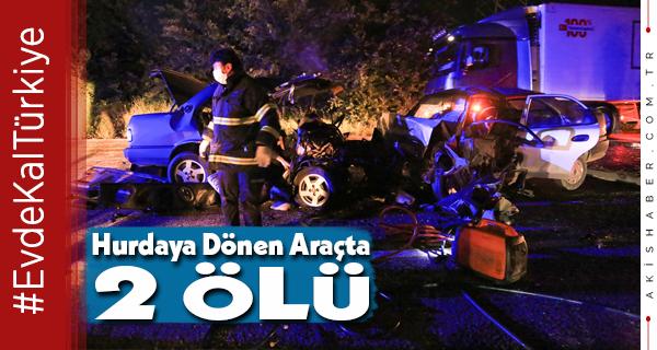 20 Plakalı Araç Muğla'da Kaza Yaptı 2 Ölü