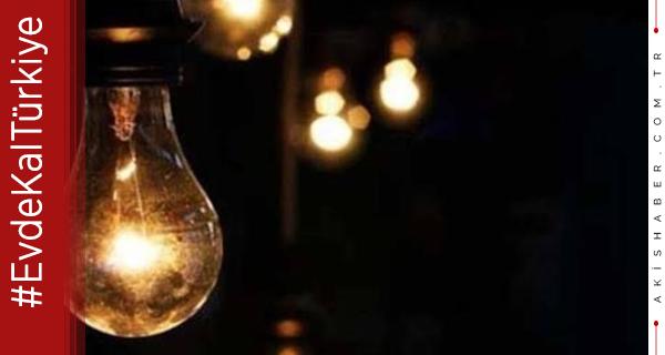 Denizli'de Hafta Sonu Elektrik Kesintisi