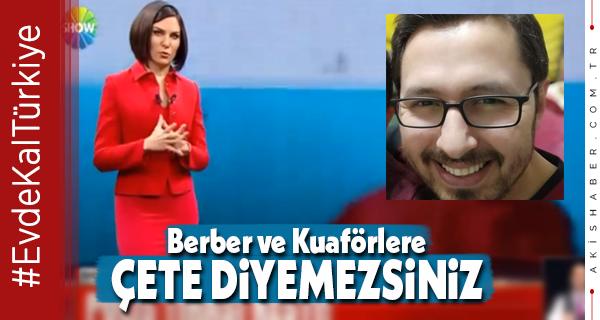Kaleli Kuaförden Show ve Beyaz TV'ye Sert Tepki