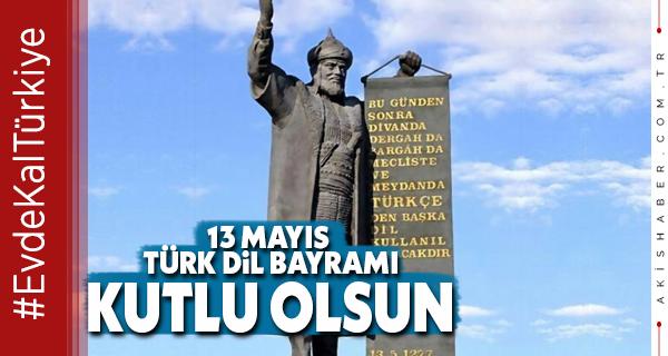Türk Dili Bayramı 743 Yaşında