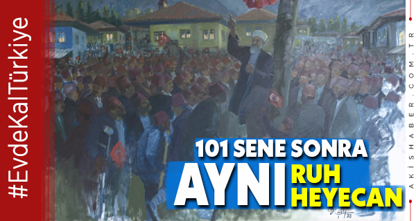 Denizli'de 15 Mayıs Milli Mücadele Heyecanı