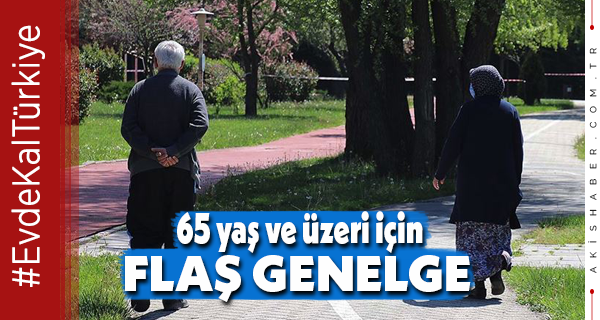 Sokağa Çıkacak Yaşlı Vatandaşlar Dikkat! Saatler Değişti